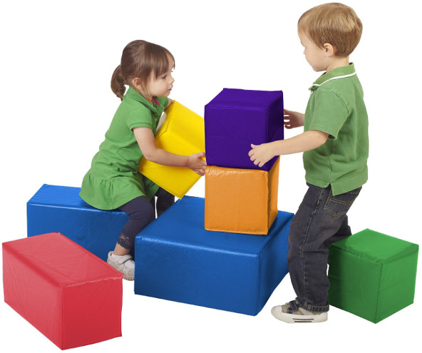 Softzone Foam Big Toy Blocks
