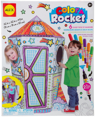 Color a Rocket