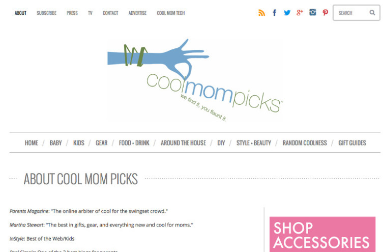 Cool Mom Picks - Most Famous Mommy Blogs