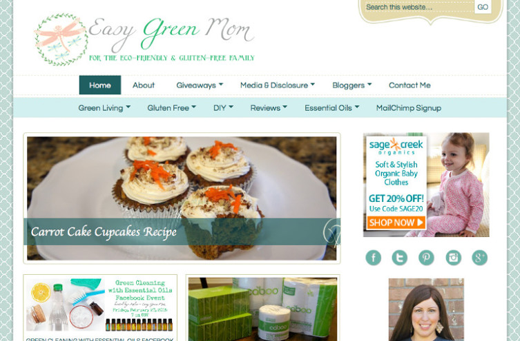 Easy Green Mom - Most Famous Mommy Blogs