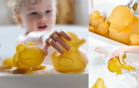 Natural Rubber Bath Toys