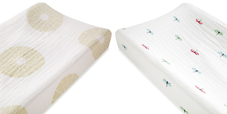 Aden + Anais Organic Changing Pad Cover