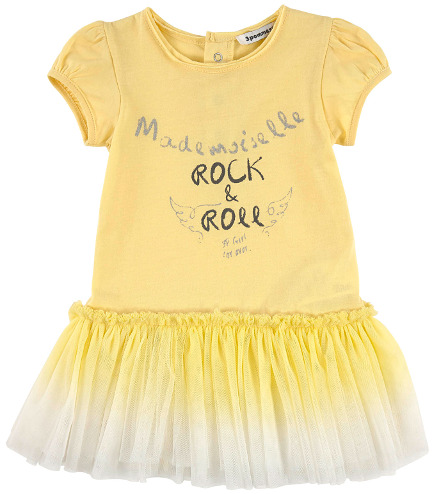 3 Pomme Spring Summer 2015 - Yellow Dress