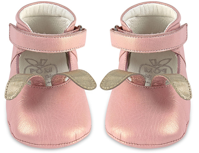 Pom D'Api Leather Bunny Derbies