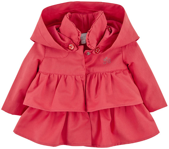 Tartine et Chocolat - Cotton Twill Coat Coral