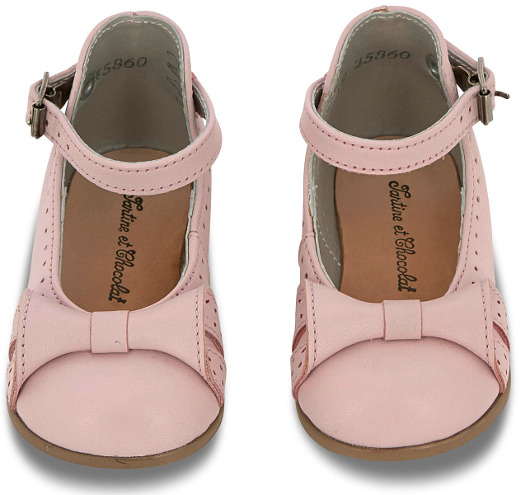 Tartine et Chocolat - Calf Leather Babies Light pink