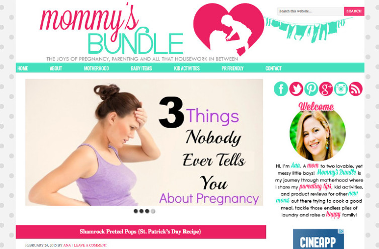 Mommy's Bundle - Most Famous Mommy Blogs