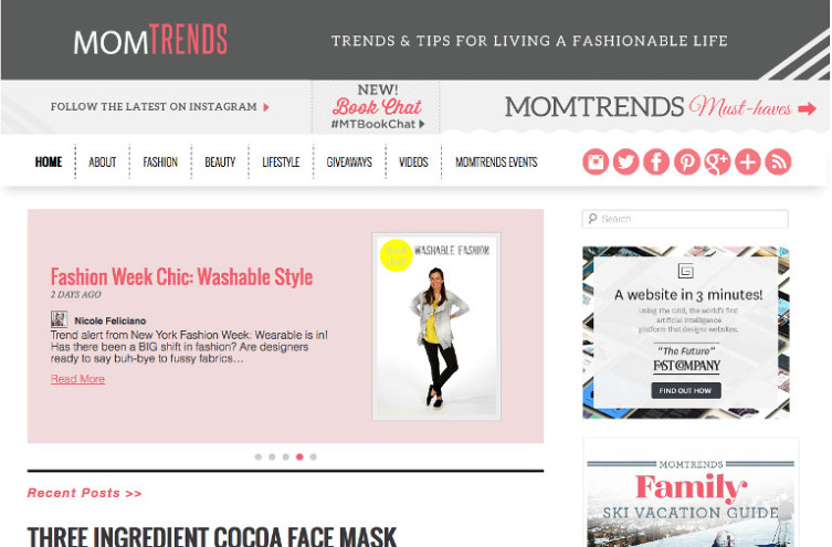 Mom Trends - Most Famous Mommy Blogs