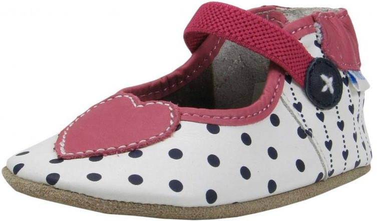 Robeez I Heart Dots Soft Soles