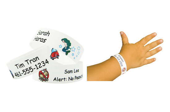 Child Safety Wristbands