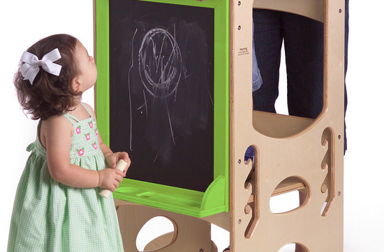 Art Easel Learning Tower - Little Parnters