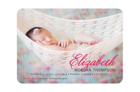 Birth Announcement Cards Printing Service