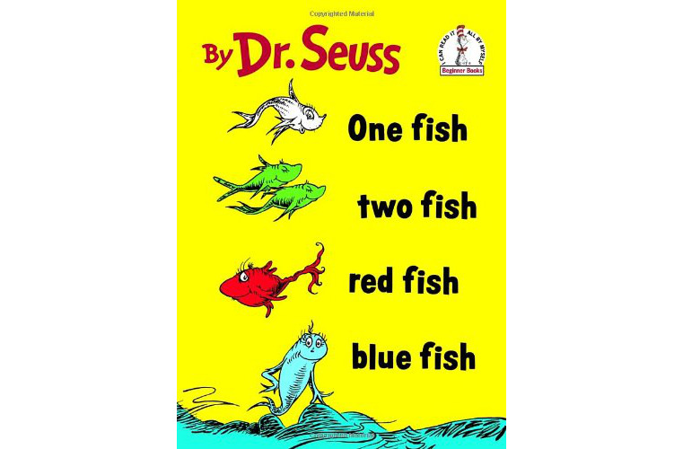 DR. Seuss One Fish Two Fish Red Fish Blue Fish