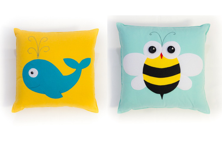Funny & Cute Pillows For Kids