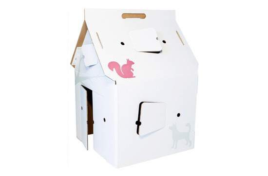 Casa Cabana Cardboard Playhouse