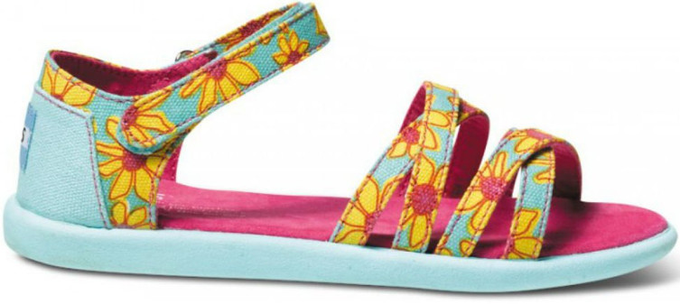Toms Yellow Daisy Sandals