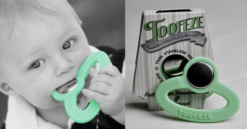 Toofeze Teether - Stainless Steel Teether