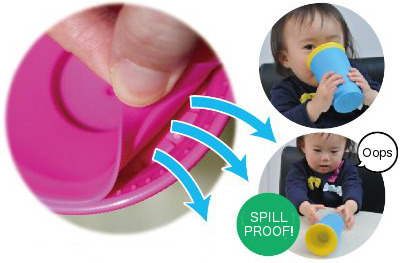 Wow Cup - Spill Proof Cup