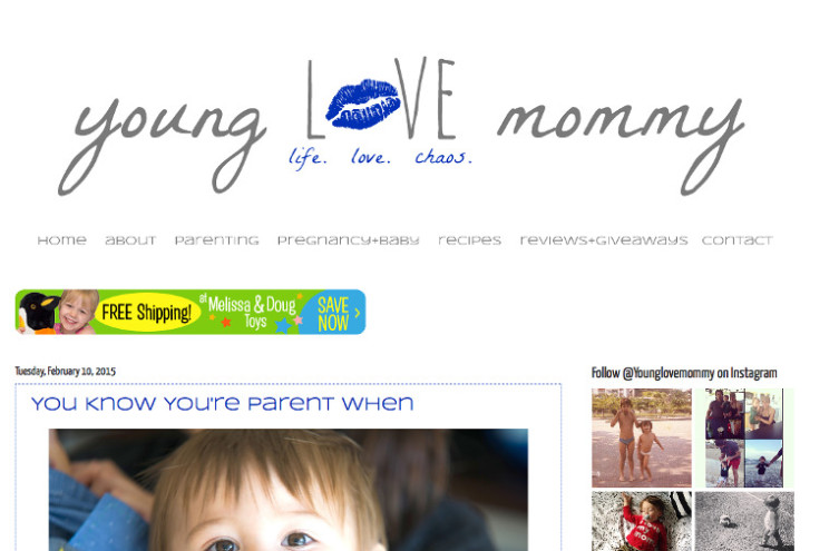 Young Love Mommy - Most Famous Mommy Blogs